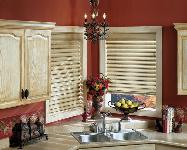 Window Blinds in Montgomery | CW Eexpose Cordlock Blinds in Kitchen