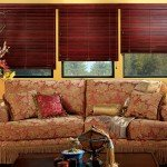 Wood Blinds in Houston | CW Expose Cordlock in Livingroom