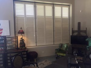Blinds and shutters for home offices