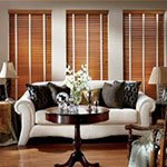 Wood Blinds in Montgomery | Medium CW Classics Cordlock Blinds